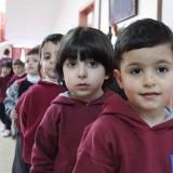 Bambini a scuola a Betlemme