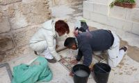 A mosaic of art and humanity: restorers from Trento in Bethany to form the young boys and girls of the Mosaic Center