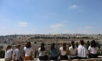 Dal deserto di Giuda alle alture del Golan, un Middle East Community Program tutto al femminile
