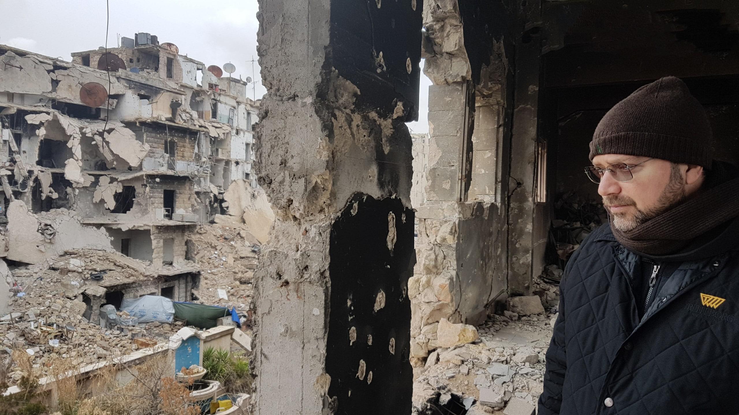 Aleppo covid war