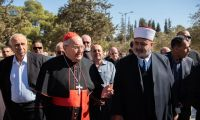 With Cardinal Sandri at the Esplanade of the Mosques: An important sign of peace