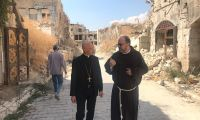Cardinal Bagnasco in Aleppo with us: You are a sign of hope for all