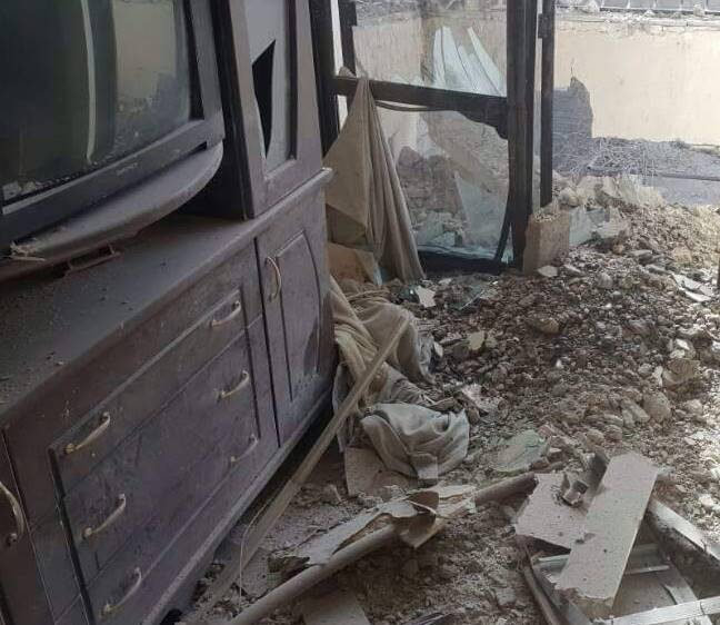 At least 40 shells in Damascus today  Hundreds wounded