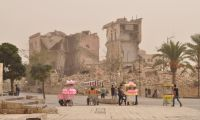 Our trip to Syria. Last stop: reconstruction in Aleppo amidst rubble and dust