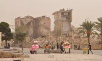 Cuento de un viaje a Siria. Última parada: Alepo entre el polvo y los escombros, pero un gran deseo de empezar de nuevo