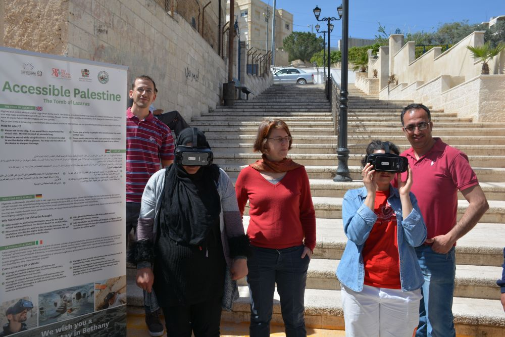 Accesible Palestine: a virtual visit to the tomb of Lazarus
