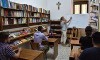 A Betlemme e Gerusalemme: lezioni di italiano per i giovani e i novizi della Custodia