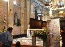 Terra Sancta Organ Festival: concerts in Israel and Palestine until the end of October