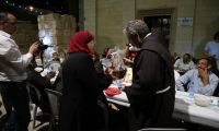 Bethany. At the Franciscan monastery, an Iftar of hospitality, friendship and brotherhood