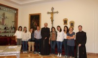 "New volunteers at Association pro Terra Sancta meet the Custos: ""Thank you for your availability"""