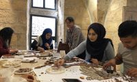 New mosaicists in Bethlehem: stories of the people attending the courses