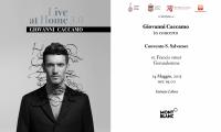 Gerusalemme: Giovanni Caccamo live al Convento di San Salvatore