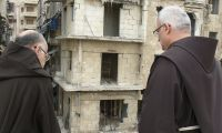 Syria: The Association pro Terra Sancta relaunches the appeal for peace made by the Franciscan Order