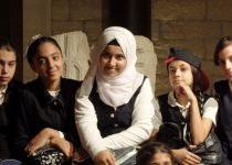 About those Muslim schools visiting the museum on the Via Dolorosa