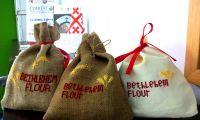 "The project ""Bethlehem Flour"", in favor of the women of Bethlehem"