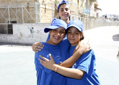 Jerusalem, summer camp, children, old city