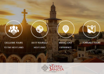 Visit the Holy Land with us! Check out our new website Visit pro Terra Sancta!