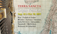 The opening of the Terra Sancta Organ Festival 2015