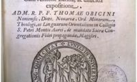 Books, Bridges of Peace: cataloguing of 17th century collection completed