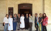 """""""Una vocación común en la gran casa de Jerusalén"""". La visita de la ONG JACC para refugiados al Terra Sancta Museum"""