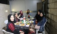 The beautiful Iftar with the women of Bethany