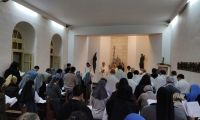 Jerusalem. Together with the Sisters of St. Elizabeth at the service of the Holy Land