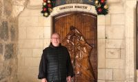 Bethlehem. Together with the Fr. guardian of the Nativity to discover the place where Hope was born