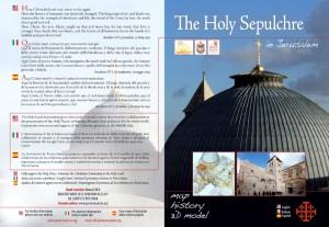 La brochure sur le Saint Sépulcre : pour s'informer sur la Basilique de la Résurrection et la visiter