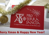 Special Christmas wishes from Association pro Terra Sancta