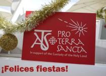 Feliz Navidad de parte de Asociación pro Terra Sancta