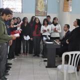 Weihnachtsfest 2009 mit Patriarch in Gaza