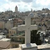 Blick auf die Altstadt von Jerusalem vom Dach des österreichischen Hospiz