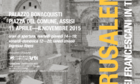 """Jerusalem! Pictures of the Franciscans in the Holy Land"": exhibition in Assisi until 8 November"